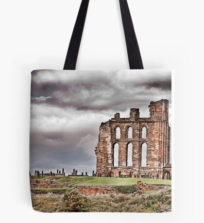 The Ruins of Tynemouth Priory Tote Bag