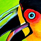 Toucan close up by ClaudiaTuli