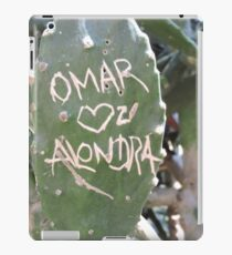 Omar and Alondra Forever iPad Case/Skin