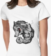Wolf Man Women's Fitted T-Shirt