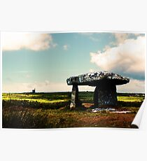 Lanyon Quoit And Ding Dong Mine Poster