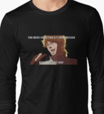 """You were expecting a T-shirt design """"But It was Me! Dio!"""" (Plain) T-Shirt"""