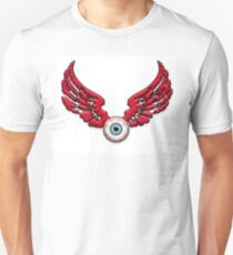 Flying Eyeball Red wings T-Shirt