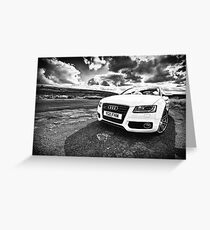 Audi A5 Greeting Card