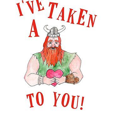 I've taken a liking to you! by sarcochrane
