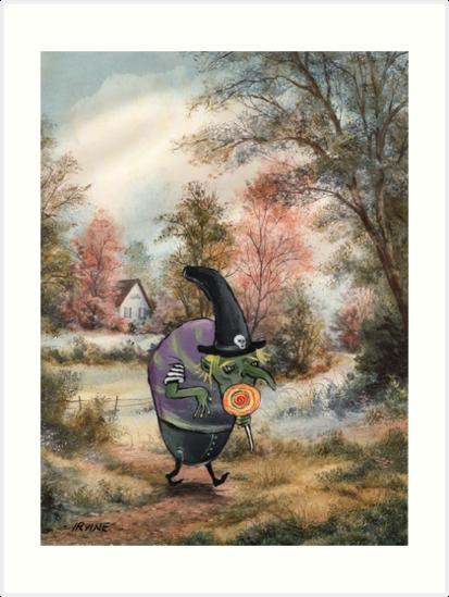 Sugary Stroll by David Irvine
