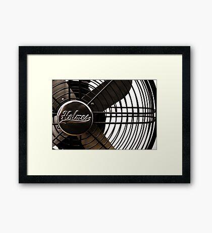 Sherlock's Fan Framed Print