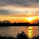 A Beautiful Day On River by kentuckyblueman
