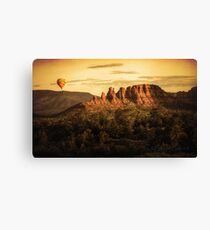 Early morning ballooning Canvas Print