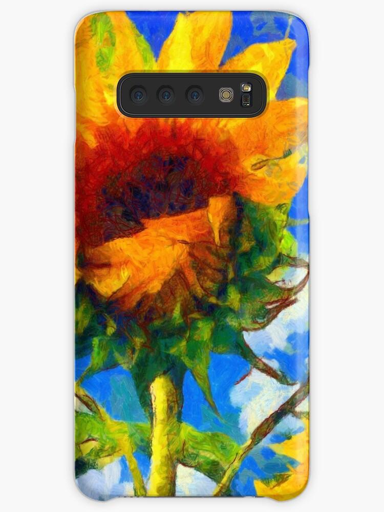 Dan de Lion with Sunflowers Samsung S10 Case