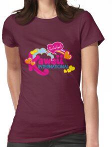 Kawaii Womens Fitted T-Shirt