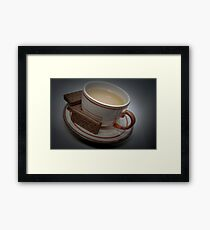 Break Time - Have some tea and biscuits Framed Print