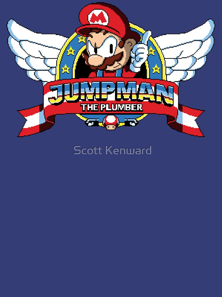 Jumpman The Plumber by scoweston