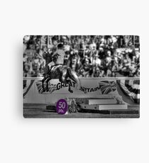 A Skittish Leap Earns 50 Points! Canvas Print