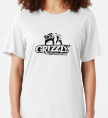 Grizzly Smokeless Tobacco Slim Fit T-Shirt