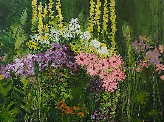 Flower Dance by Allan P Friedlander