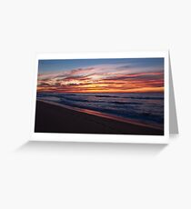 Wamberal Sunrise Greeting Card