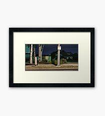 Urban Miscellany Framed Print