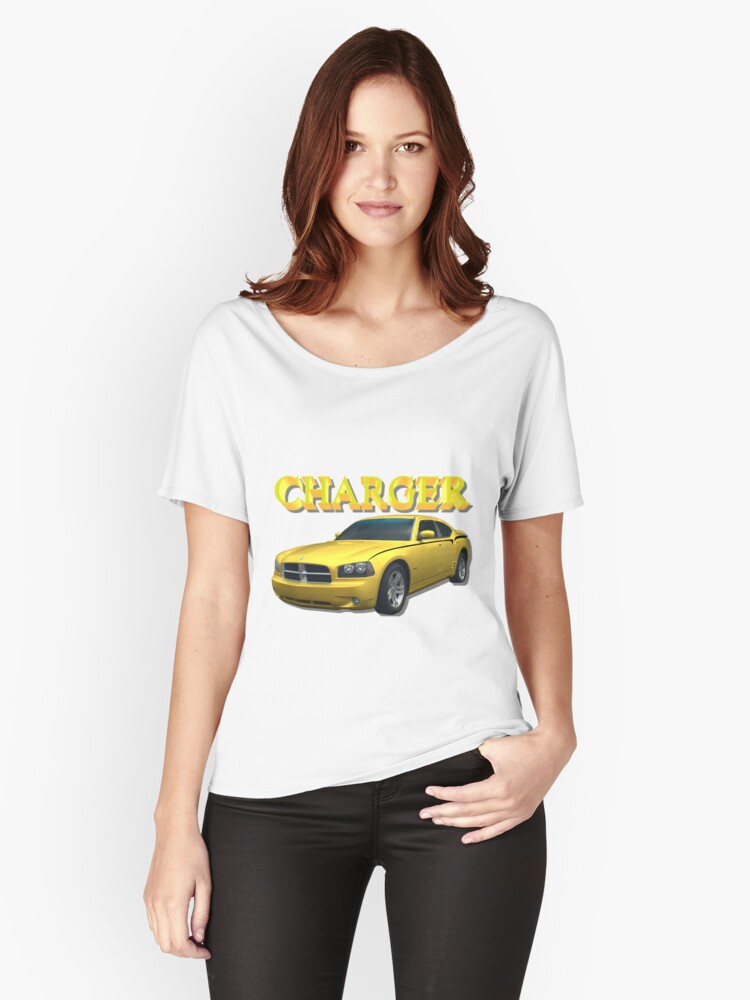 Yellow Charger Women's Relaxed Fit T-Shirt Front