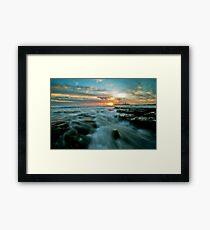 Mooloolaba Sunrise Framed Print