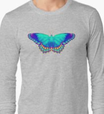 Colorful Butterfly Long Sleeve T-Shirt