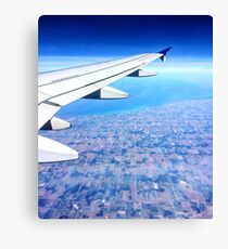 Midwest Sky from Plane Canvas Print
