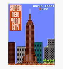 Super New York City Photographic Print