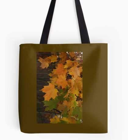 Fall Leaves iPhone case Tote Bag