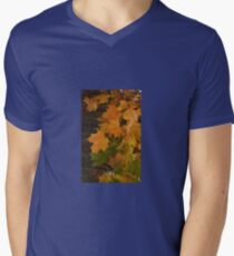 Fall Leaves iPhone case Men's V-Neck T-Shirt