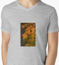 Fall Leaves iPhone case Mens V-Neck T-Shirt
