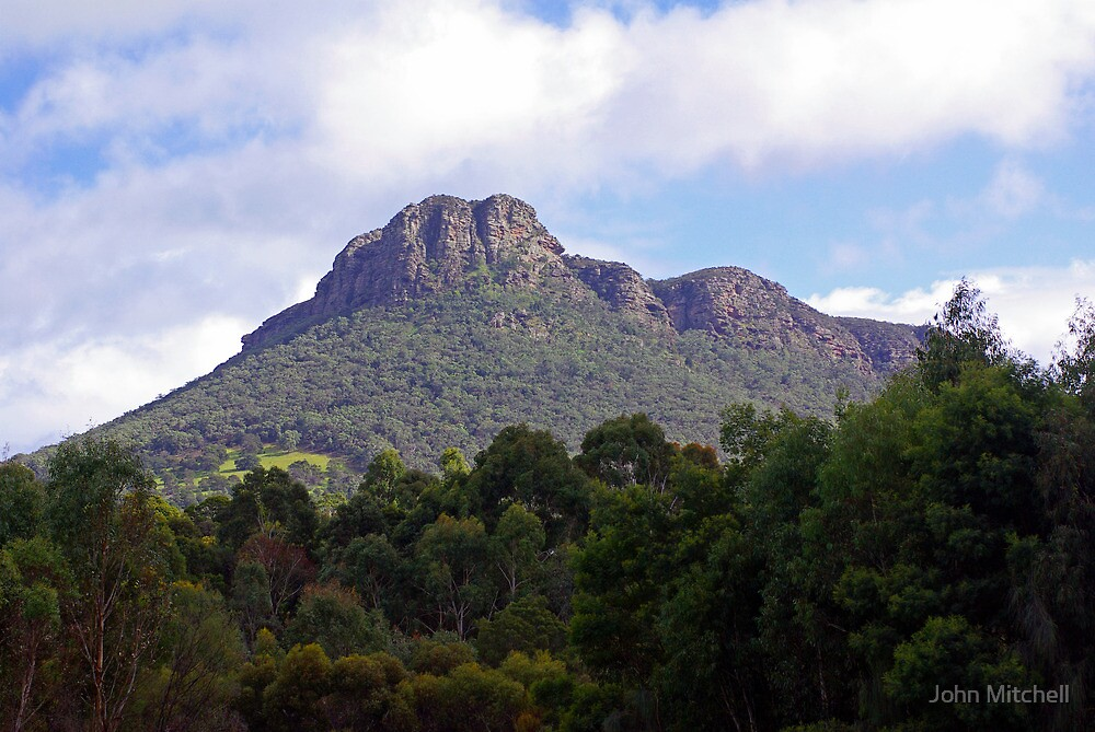 Mount Stapleton, Grampians, Victoria by John Mitchell