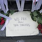 We Are All New Yorkers - 911 Tribute by Bernadette Claffey