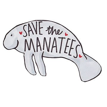 Save the Manatees by delabrmr