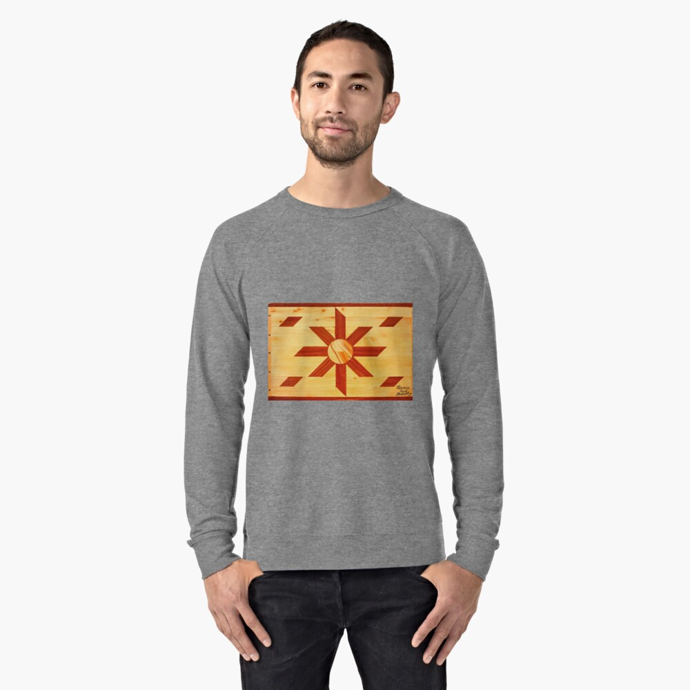 Religous Coffee Table Landscape Lightweight Sweatshirt Front