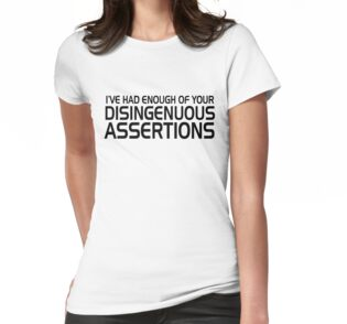 """Disingenuous Assertions"""" Classic T-Shirts by Chuloopa 