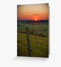 Rural Route Greeting Card