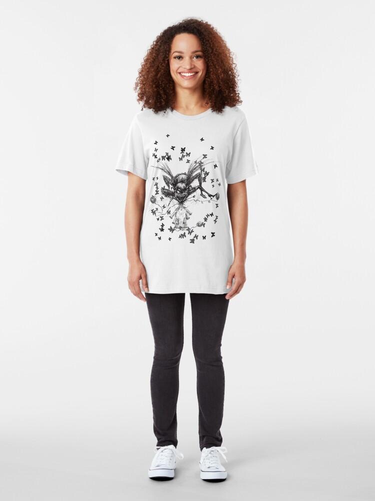 Alternate view of Web Design Slim Fit T-Shirt