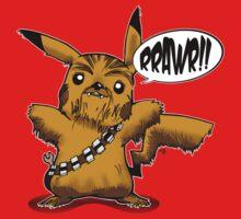Pok? Wars: Pikachewie (no-text) T-Shirt