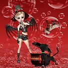 Magic Red Bubbles by LoneAngel
