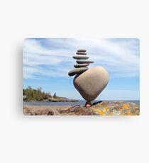 Stack on Balance Metal Print