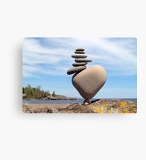 Stack on Balance Canvas Print