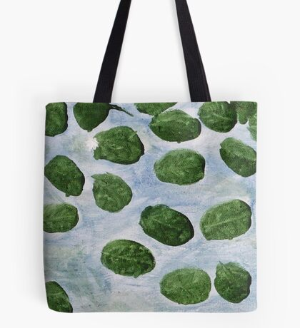 Impression Lilly Pads Tote Bag