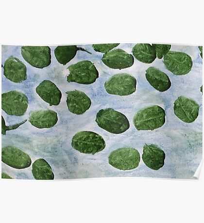 Impression Lilly Pads Poster