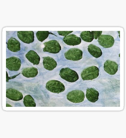 Impression Lilly Pads Sticker