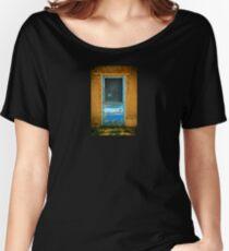 Taos Pueblo Screen Door Women's Relaxed Fit T-Shirt