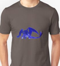 Glowing Toothless - Gray Unisex T-Shirt