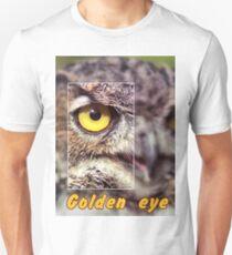 Golden eye Unisex T-Shirt