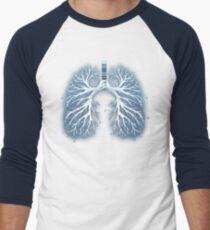 I Breathe Music Men's Baseball ¾ T-Shirt