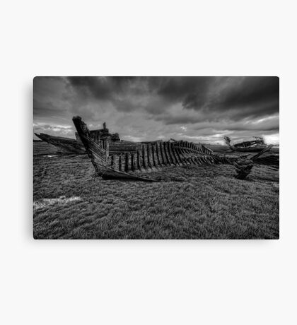 Shadow of Their Former Glory Canvas Print