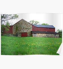 Chester County Barn Poster